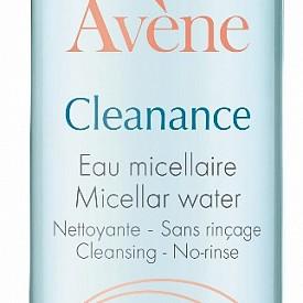 Почистваща мицеларна вода Cleanance на AVENE.
