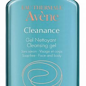 Почистващ гел за лице Cleanance на AVENE.