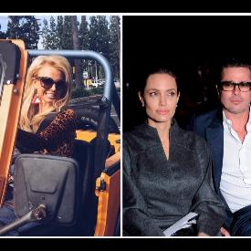 Бритни Спиърс, Анджелина Джоли и Брад Пит