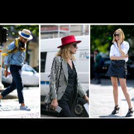 Най-стилните мъже и жени от Париж