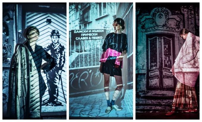 """Част от кадрите """"Вратите на София"""" оживяха и като модна сесия в сп. ELLE през 2016 г."""