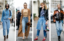 Street style: Деним по френски
