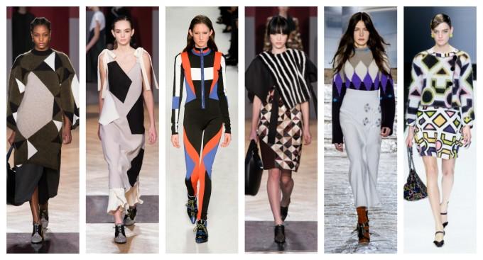 Геометрията е вдъхновението на дизайнерите за новите есенно-зимни колекции