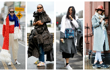 Street style: С маратонки през зимата