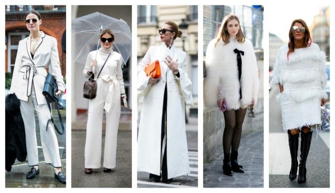 Street style: Семпло, в бяло по улиците на града
