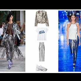 Метален блясък в модния гардероб за 2017