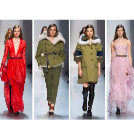 Новата колекция на Еrmanno Scervino - от милитари стил до класическа елегантност