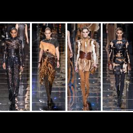 Париж: Модната армия на Balmain за есен-зима 2017/2018