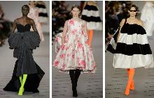 Haute Couture модели в новата колекция на Balenciaga