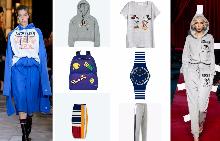 От ляво: Суитчер Tommy Hilfiger; раница Benetton; пола Tommy Hilfiger От дясно: Тениска H&M; Часовник Swatch, спортно долнище MANGO