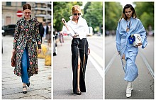 Как да носим дрехи с дълбока цепка