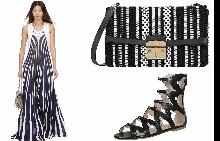 Chloe; чанта Furla; сандали MYVI от Le Scarpe