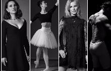 Натали Портман, Хана О'Нийл, Ева Херцигова и Жоан Бишо (отляво надясно) сред първите в Dior Love Chain