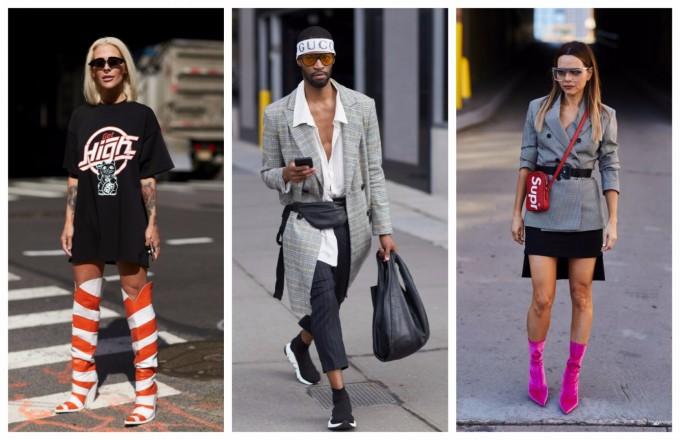 Най-добрите street style визии от улиците на Ню Йорк