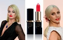 Как да носите червеното червило като Марго Роби и Лейди Гага