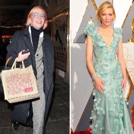 Кейт Бланшет днес и на наградите Оскар