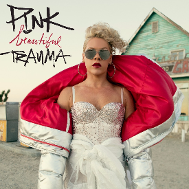Pink с премиера на Beautiful Trauma