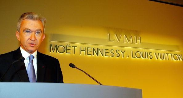 Президентът на LVMH Бернар Арно