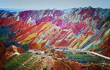 Цветните планини в Китай