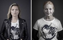 "Кейт Мос и Вивиан Уестууд в проекта ""Save The Arctic"""