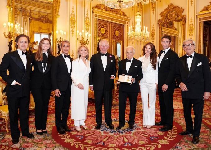 Семейството на Ралф Лорън, дизайнерът и принц Чарлз