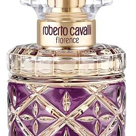 Roberto Cavalli Florence е шипрово-амбров аромат. В сърцевината му искри цъфтящ букет, комбиниращ  нежен портокалов цвят и свежи грейпфрутови венчелистчета. Тази деликатна комбинация е подчертана от леко мускусното ухание на семена хибискус, които внасят усещане за екзотика и мистерия.