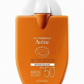 Слънцезащитен лосион в удобна опаковка Reflexe Solaire на Avene, 30 мл, 26.90 лв.