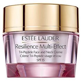 Новата Resilience Multi-Effect колекция на ESTEE LAUDER е заредена с комплекса Tri-Peptide, който само за 3 дни увеличава колагена в кожата със 124%! Кремът за лице (209 лв.) и околоочният крем (126 лв.) защитават кожата от вредните фактори на околната среда, включително и от инфрачервени лъчи.