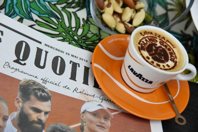 """Вече пета година италианската марка за кафе Lavazza е партньор на """"Ролан Гарос"""", където бяха представени новите рецепти на Аликс Борнон"""