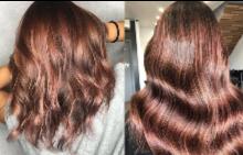 РОЗОВО КАФЯВО - новият пролетен цвят за коса