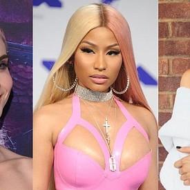 РОЗОВО ЗЛАТО: С добавяне на малко платинено този цвят е следващата крачка от аноме розовият цвят, който доминираше в Instagram. Наскоро бе видян на Бела Хадид, Кара Делевин и на косата на Ники Минаж.