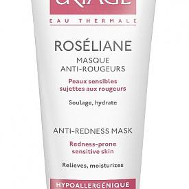 Маска за чувствителна кожа против зачервяване Roseliane Masque Anti-Rougeurs на Uriage