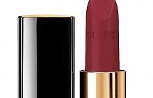 Матиращо червило Rouge Allure Velvet (цвят Nightfall) от есенната грим колекция на CHANEL