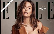 ELLE Австралия с корица на кърмеща жена