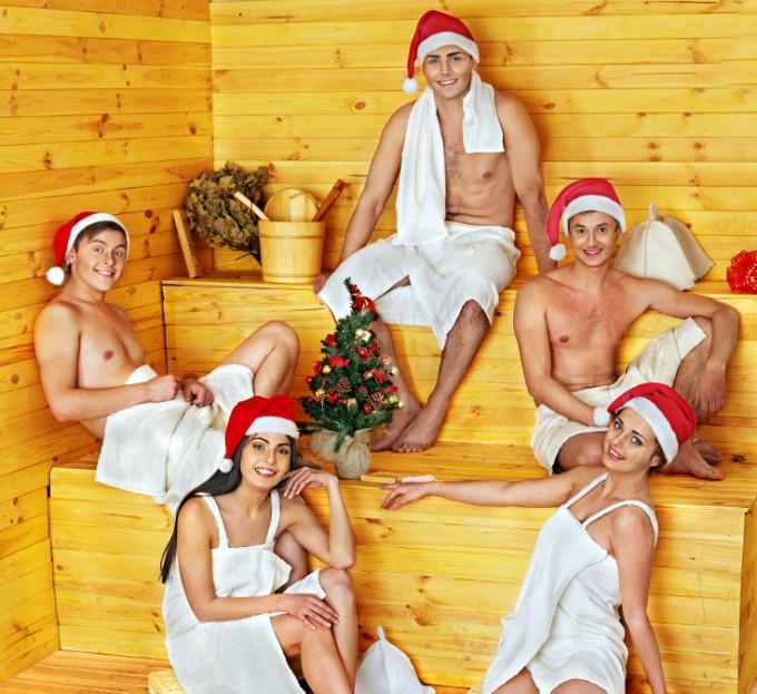 Финландия   Празнуването на Коледа за северния народ...