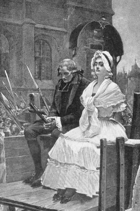 Снимката илюстрира Мария Антоанета на път към...