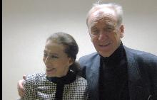Мая Плисецкая и съпругът й Родион Шчедрин