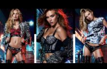 Вижте пълната колекция бельо на Balmain и Victoria's Secret
