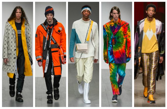 Лондон даде старт на ревютата за мъжката мода по иновативен начин