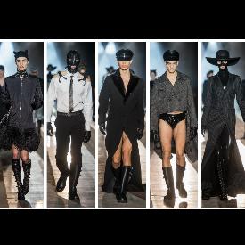 Садо-мазо дрехи за модни разбирачи от Jeremy Scott