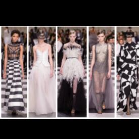 Шах и мат от Dior Haute Couture 2018