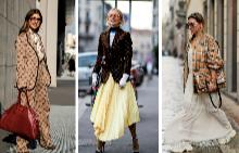 Street style: Лого принт мания завладя уличната мода в Милано