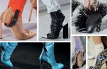 Какви обувки се разходиха по модния подиум в Париж?