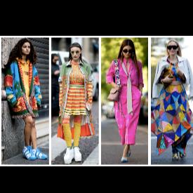 Street style вдъхновение: Цветни, пъстри, ярки по улиците на града