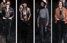 За първи път Saint Laurent представи новата си мъжка колекция в Ню Йорк