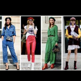 Street style вдъхновение: Каскети и барети по улиците на Париж