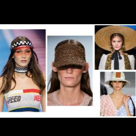 20 идеи от подиума за летен стил с шапка