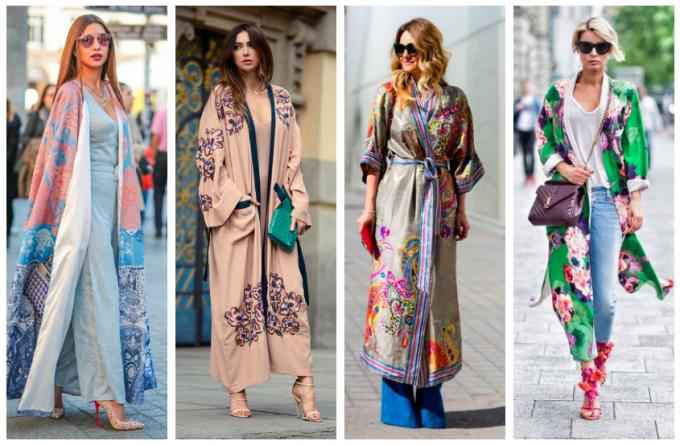 17 Street style вдъхновения за перфектен летен стил с кимоно
