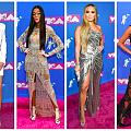 По червения килим на MTV VMA 2018