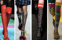 Чорапите като моден аксесоар в есенния гардероб